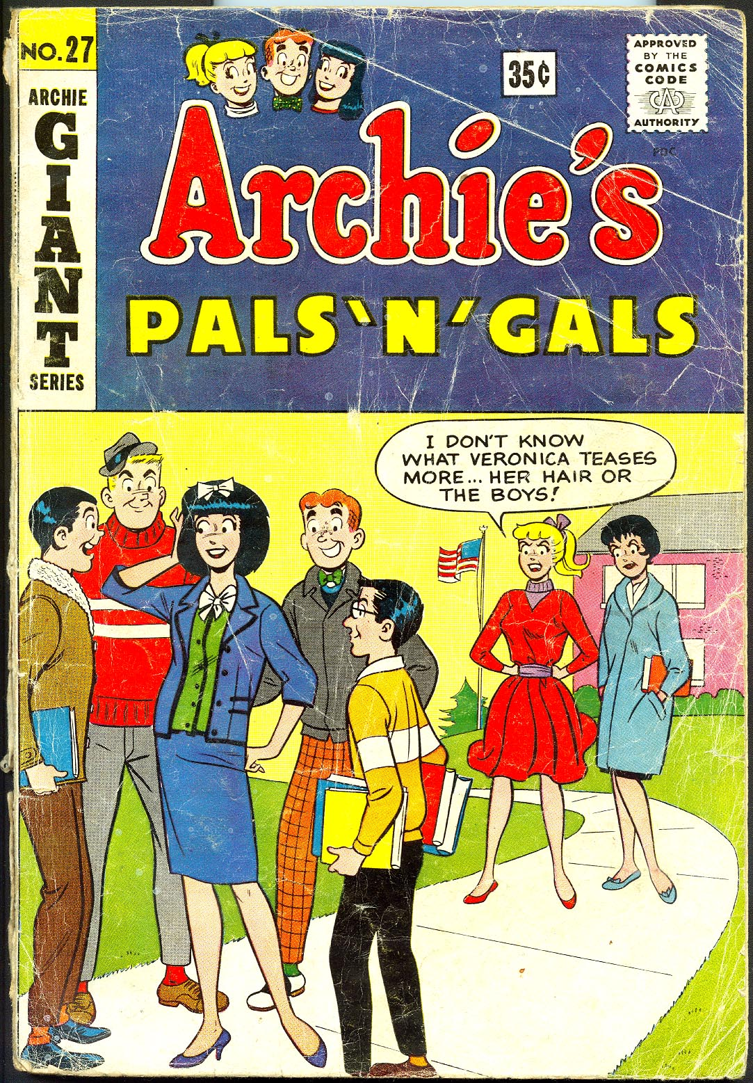 Archies Pals N Gals (Giant Series) 27 -VG