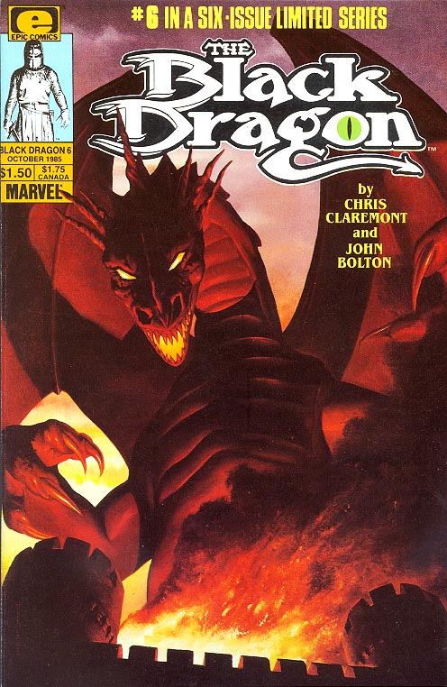 Black Dragon (Epic Comics) 6 (of 6 )