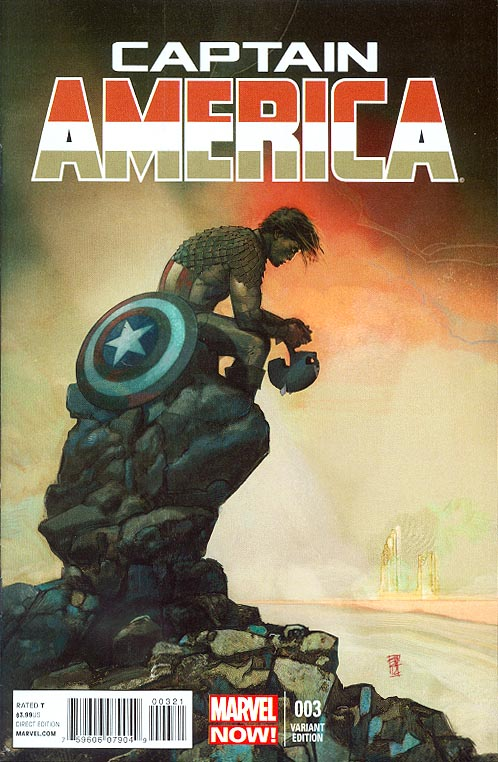 Captain America vol 7 - 3 ( 1 in 50 Alex Maleev Variant)
