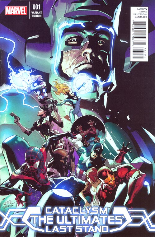 Cataclysm The Ultimates Last Stand 1 (of 5 ) ( 1 of 30 Leinil Yu Variant)
