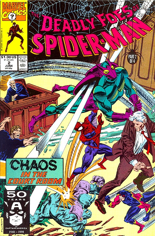 Deadly Foes Of Spider-Man 2