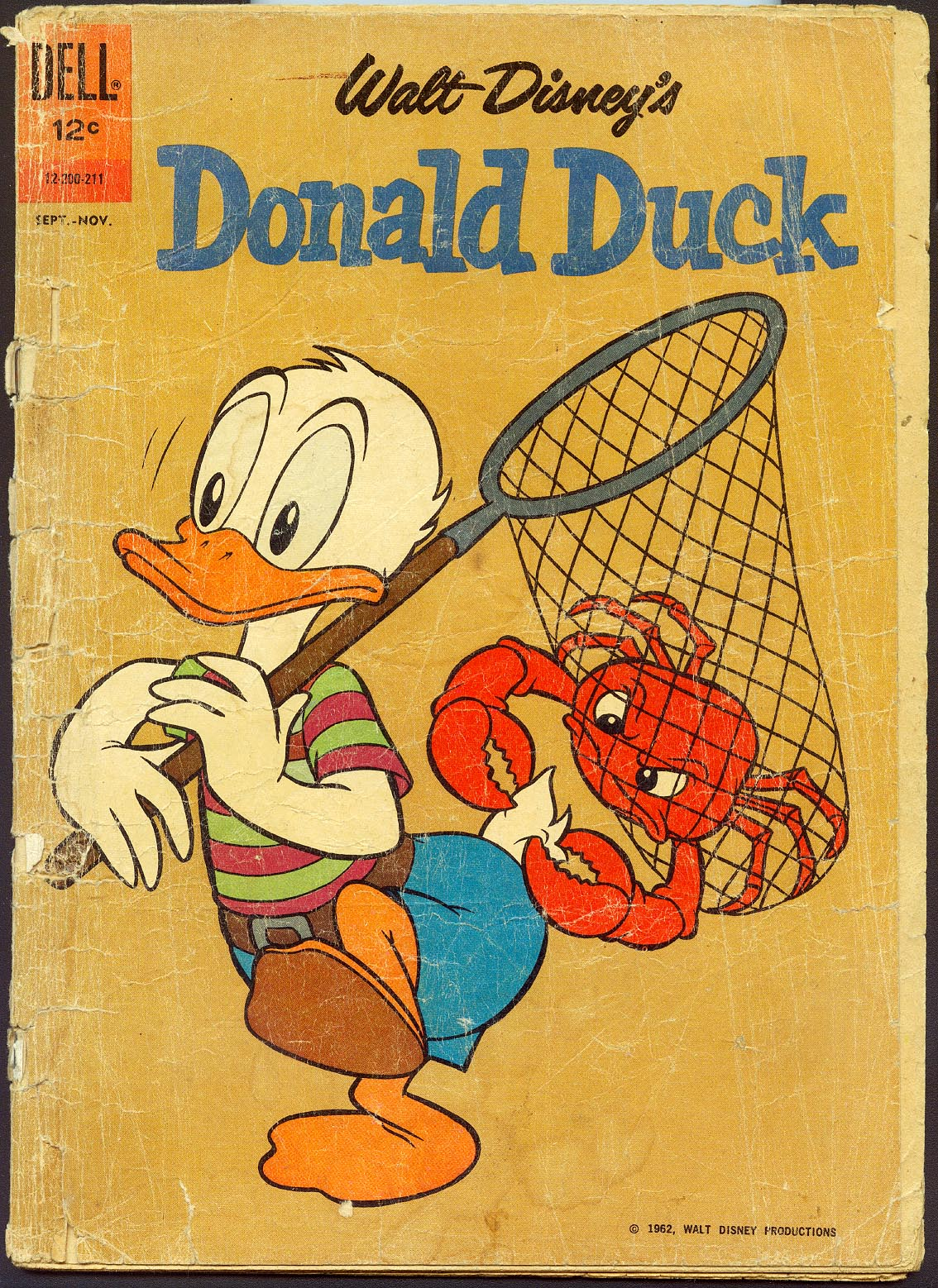 Donald Duck (Dell) 84 (Last Dell Issue) -FR