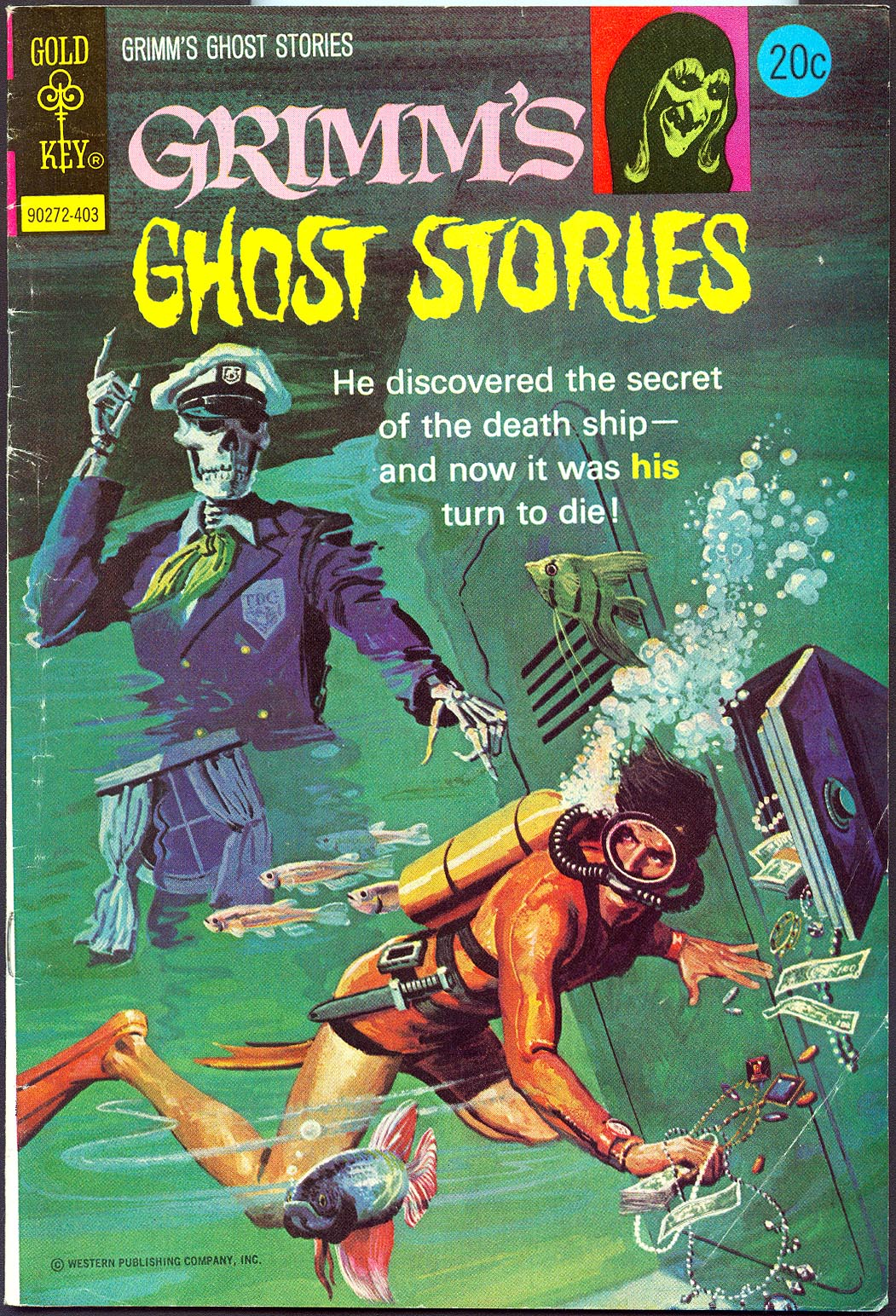 Grimms Ghost Stories (Gold Key) 15 -F