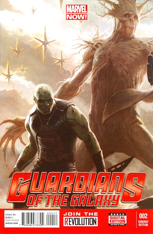 Guardians Of The Galaxy vol 3 - 2 ( 1 in 25 Movie Concept Variant)