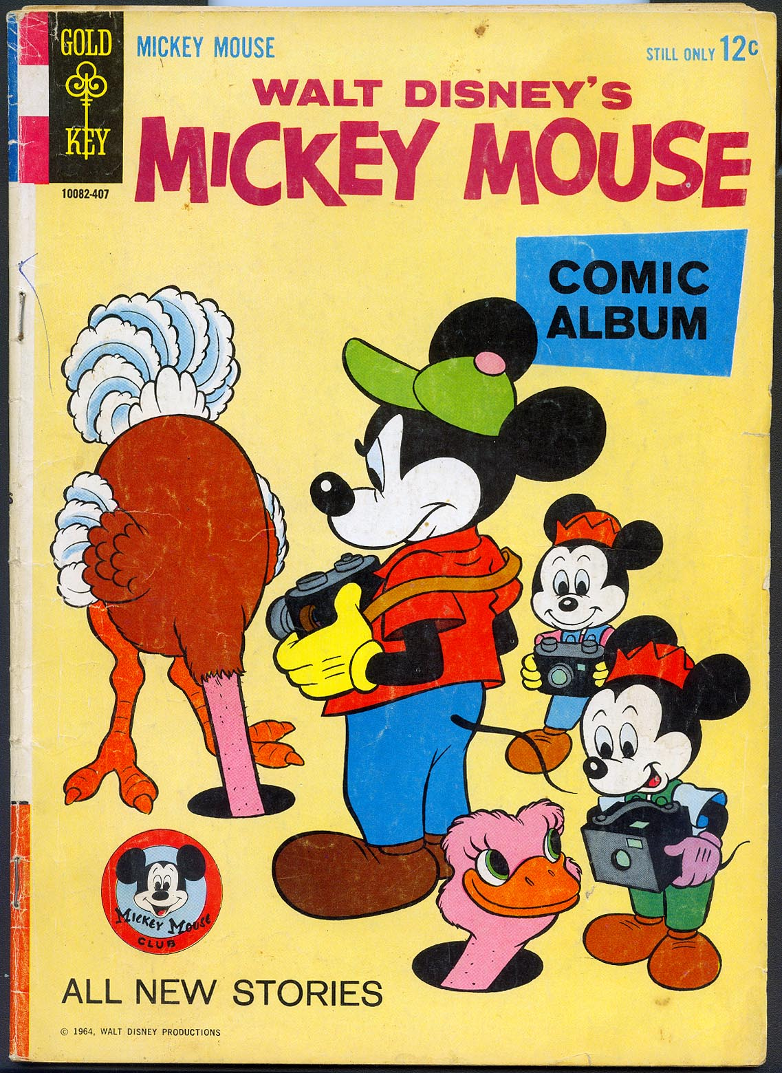 Mickey Mouse (Gold Key) 95 -VG