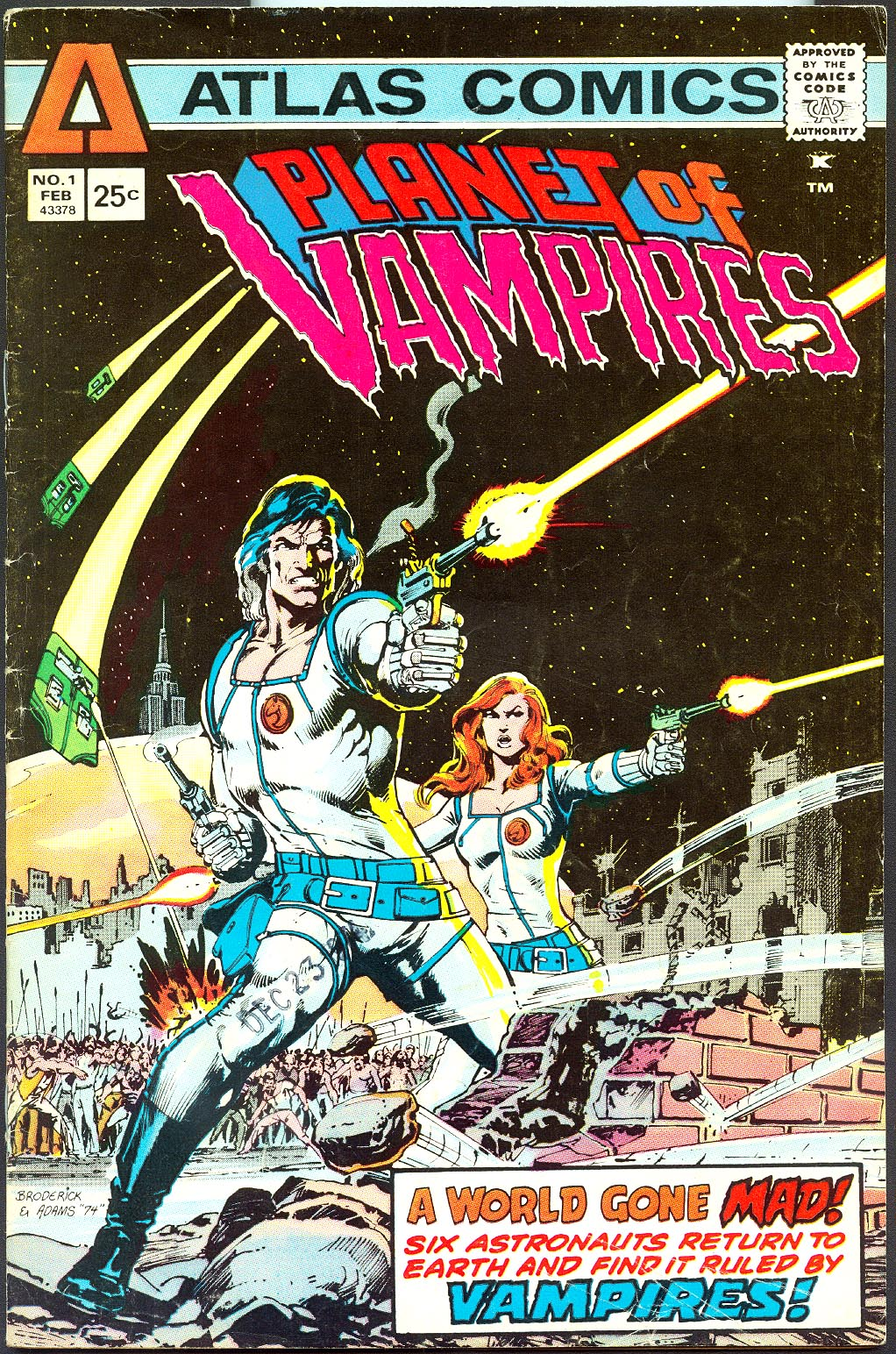 Planet Of Vampires (Atlas) 1 -VG