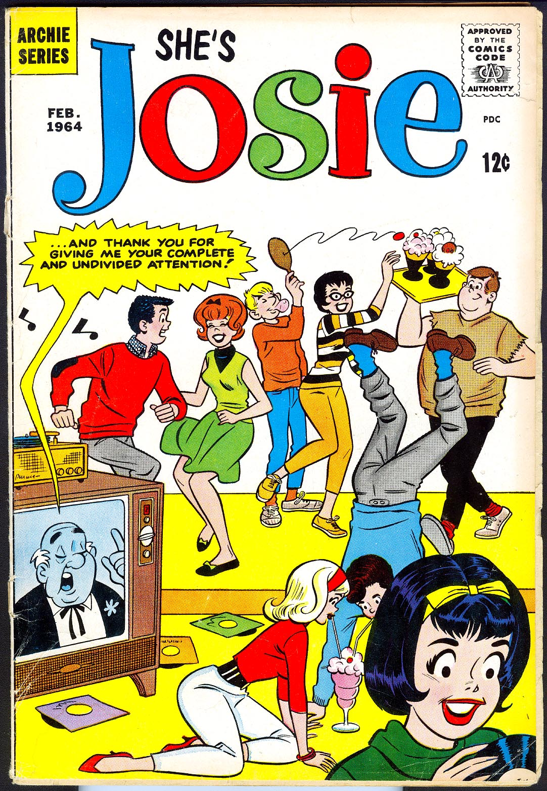 Shes Josie 9 (Cover Detached) -VG