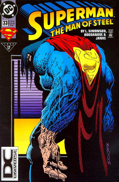 Superman The Man Of Steel 33 -VF