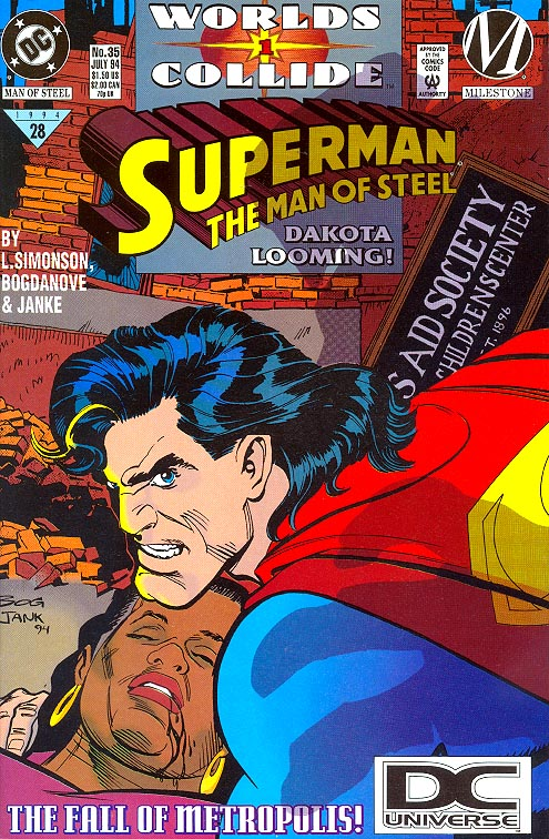 Superman The Man Of Steel 35