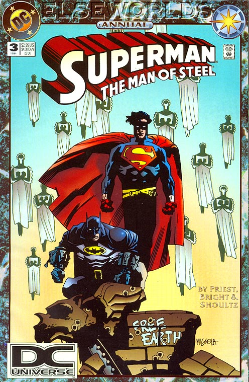 Superman The Man Of Steel Annual 3