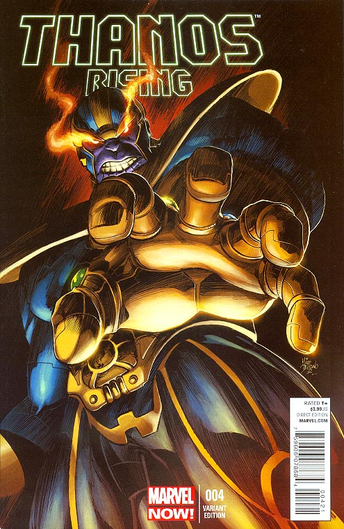 Thanos Rising 4 (of 5 ) ( 1 in 25 Deodato Variant)