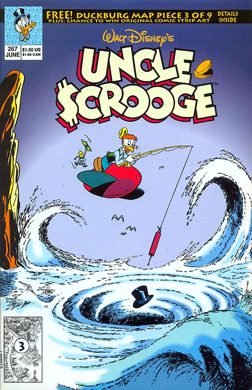 Uncle Scrooge (Disney Comics) 267