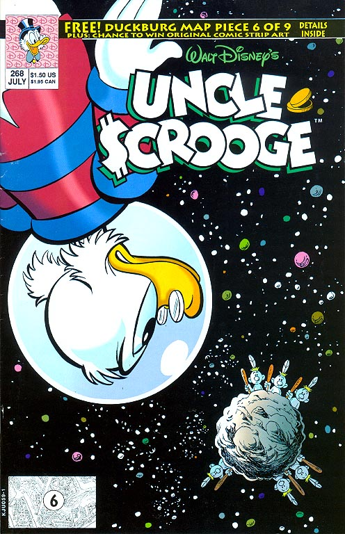 Uncle Scrooge (Disney Comics) 268 -VF