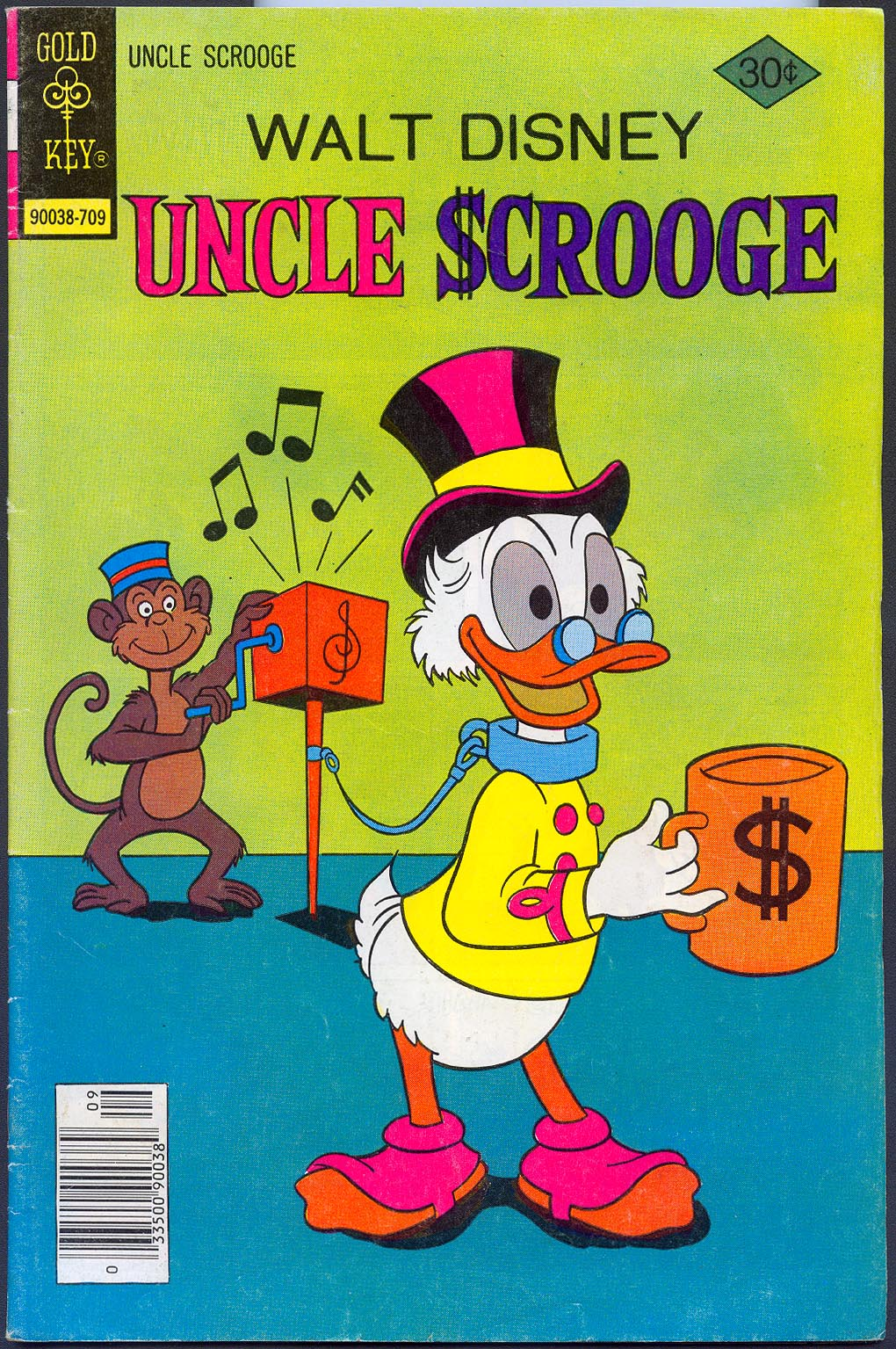 Uncle Scrooge (Gold Key) 144 -FVF