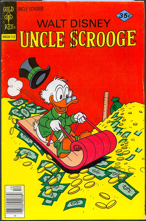 Uncle Scrooge (Gold Key) 147 -F