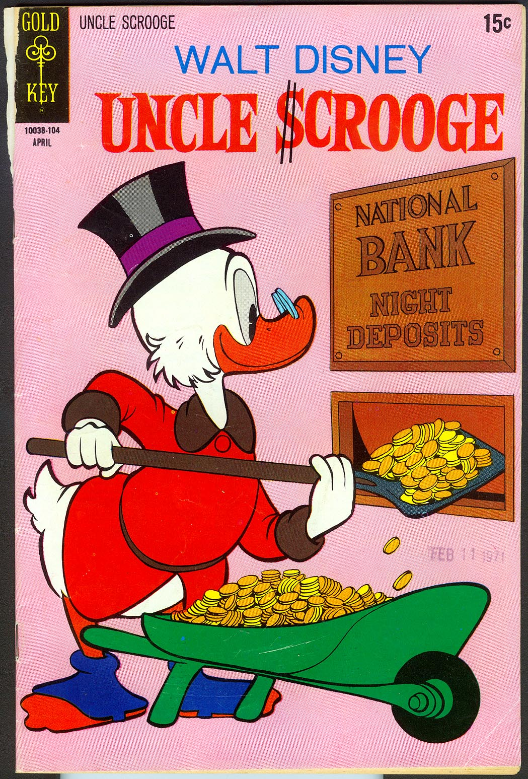 Uncle Scrooge (Gold Key) 92 -G