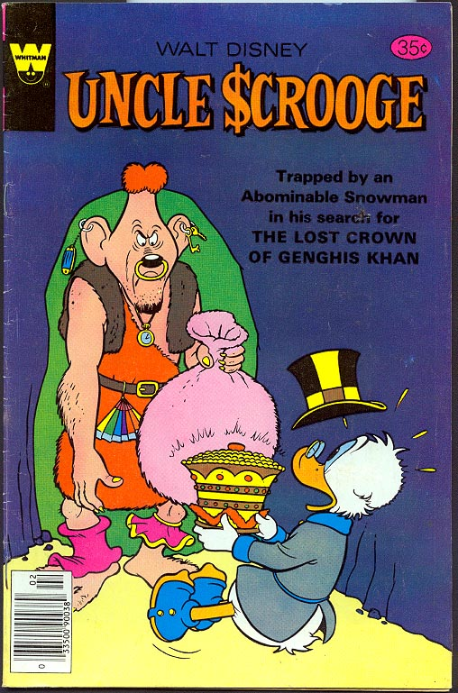 Uncle Scrooge (Whitman) 161 -F