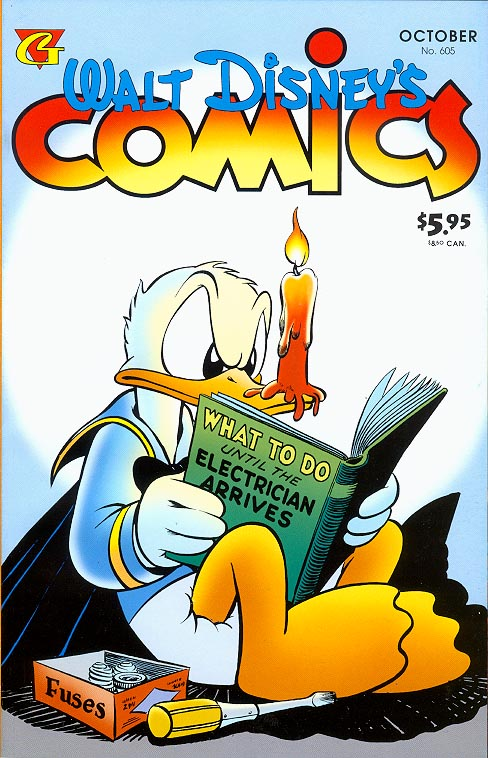 Walt Disneys Comics & Stories (Gladstone) 605