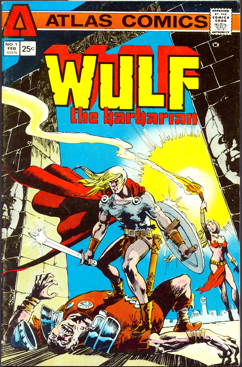 Wulf The Barbarian (Atlas) 1 -VG