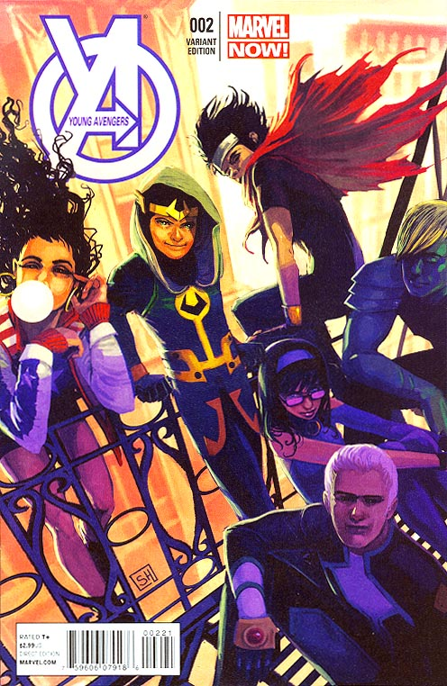 Young Avengers vol 2 - 2 ( 1 in 50 Stephanie Hans Variant)