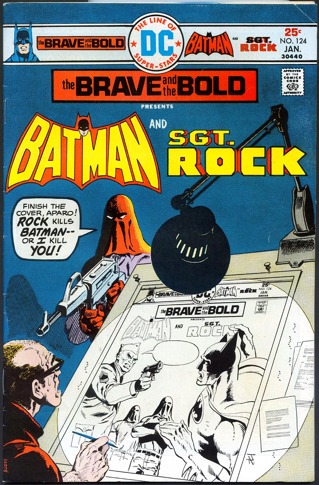 Brave And The Bold vol 1 - 124 -VF