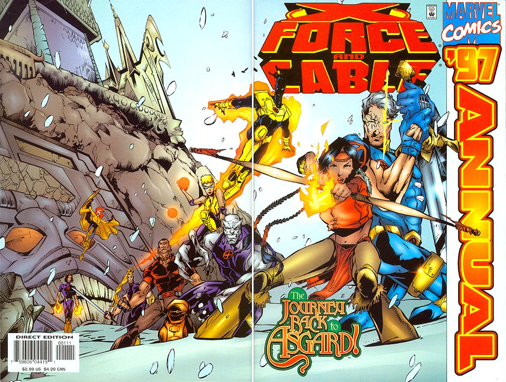 Cable X-Force Annual 1997 (Wrap Cvr)
