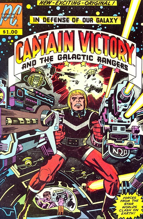 Captain Victory and the Galactic Rangers 1