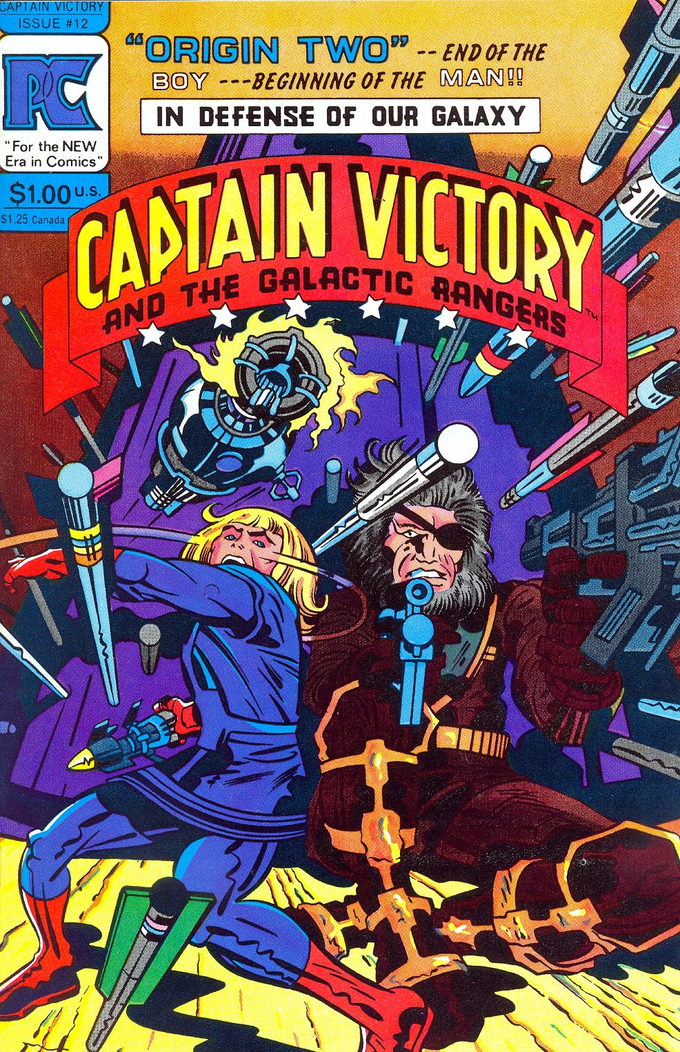Captain Victory and the Galactic Rangers 12