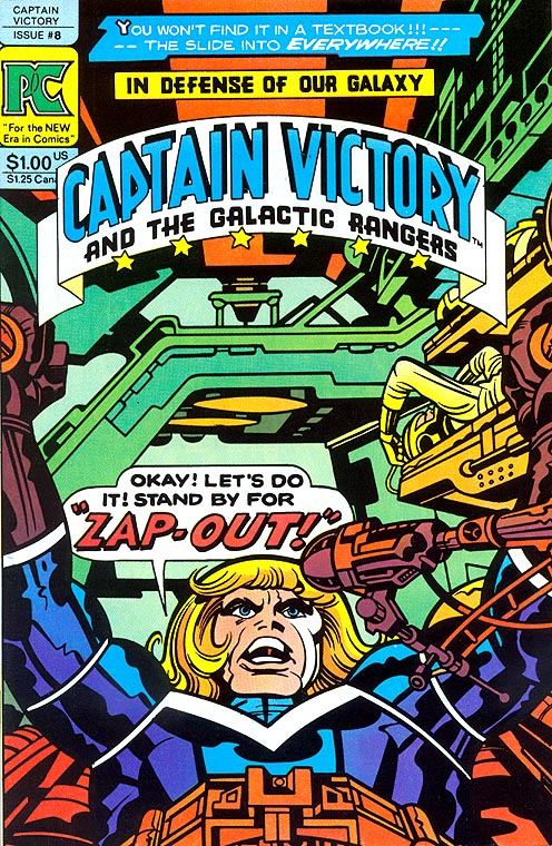 Captain Victory and the Galactic Rangers 8