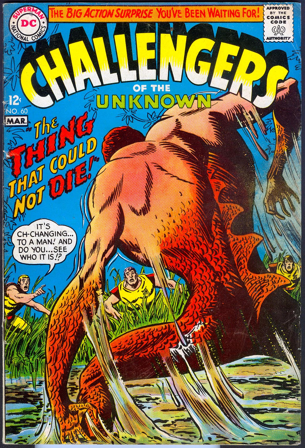 Challengers Of The Unknown vol 1 - 60 -VG