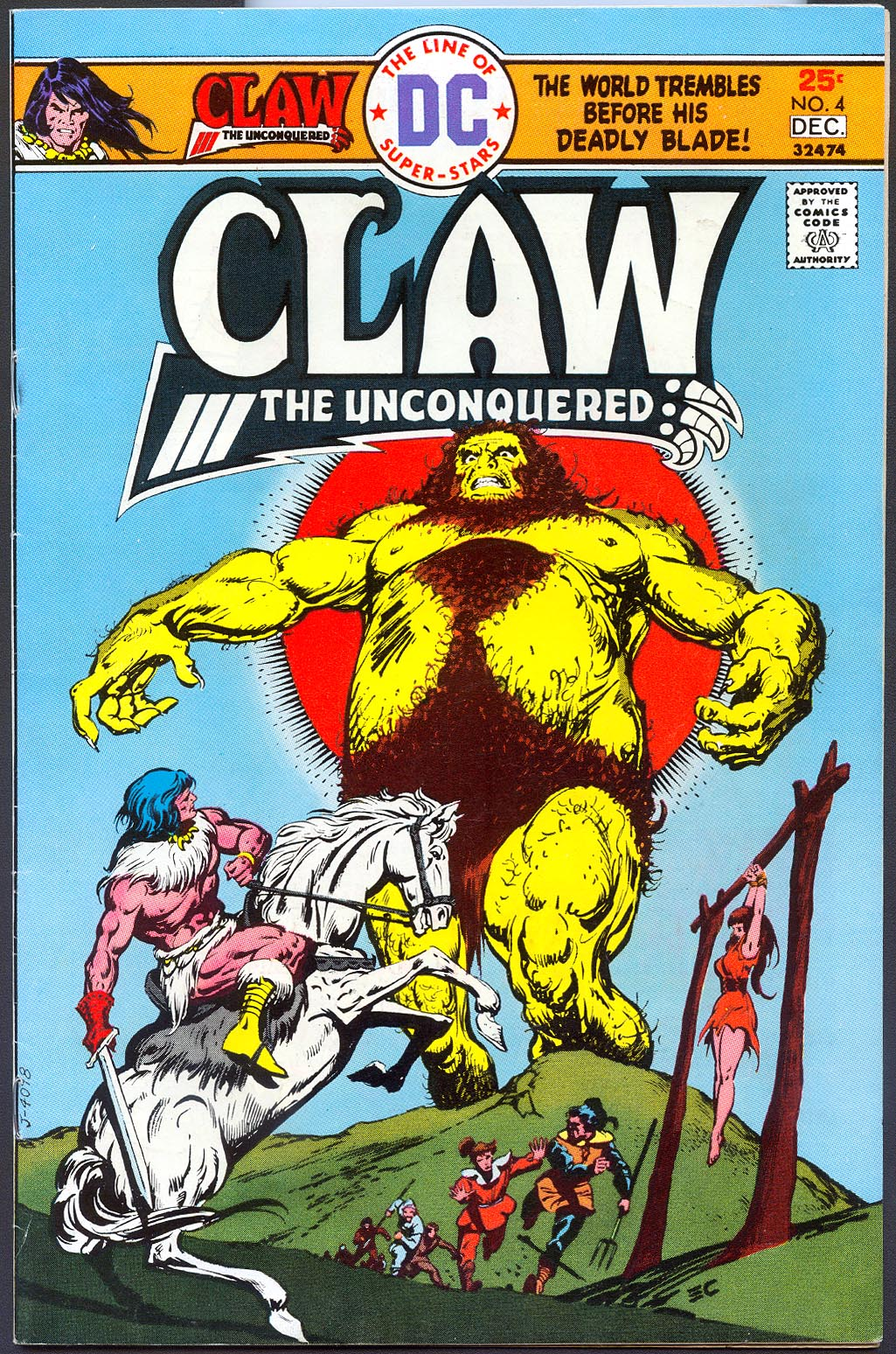 Claw The Unconquered 4 -VF