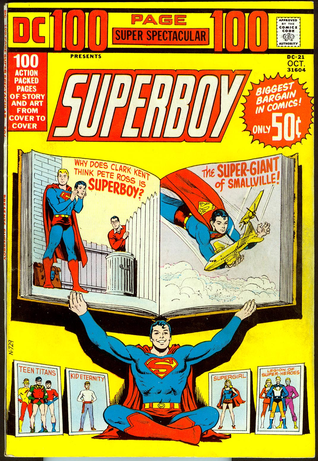 DC 100 Page Super Spectacular 21 -VFNM