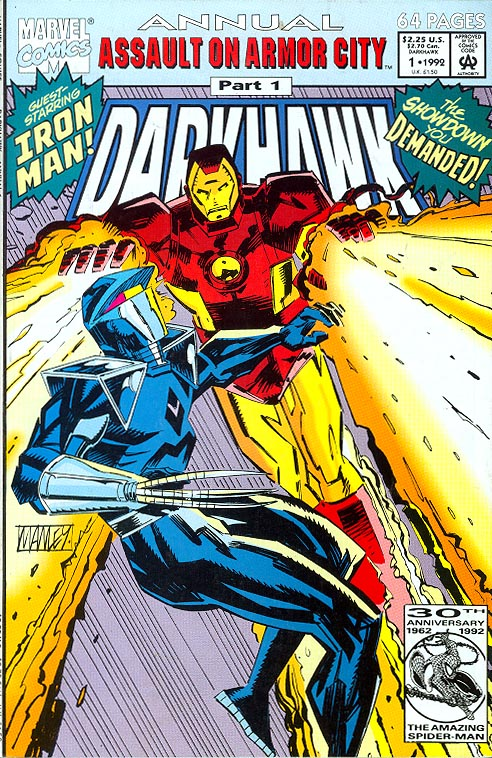 Darkhawk Annual 1 -VFNM