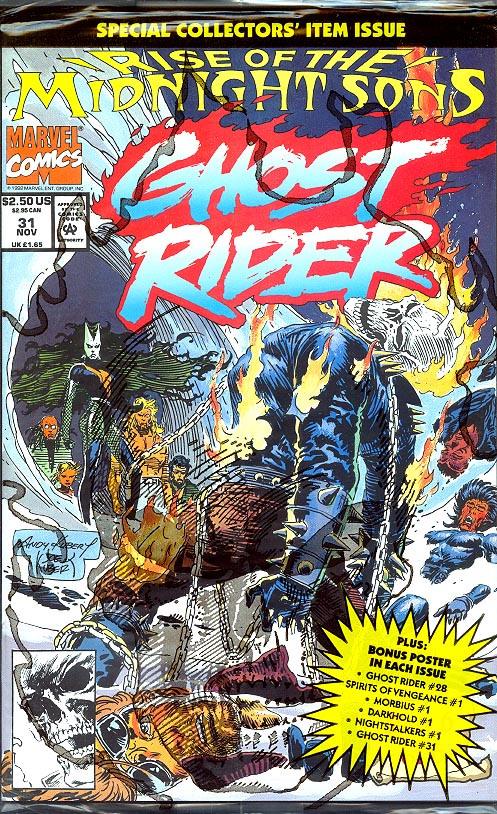 Ghost Rider vol 3 - 31 (Sealed With Poster)