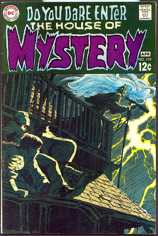 House Of Mystery 179 -VF