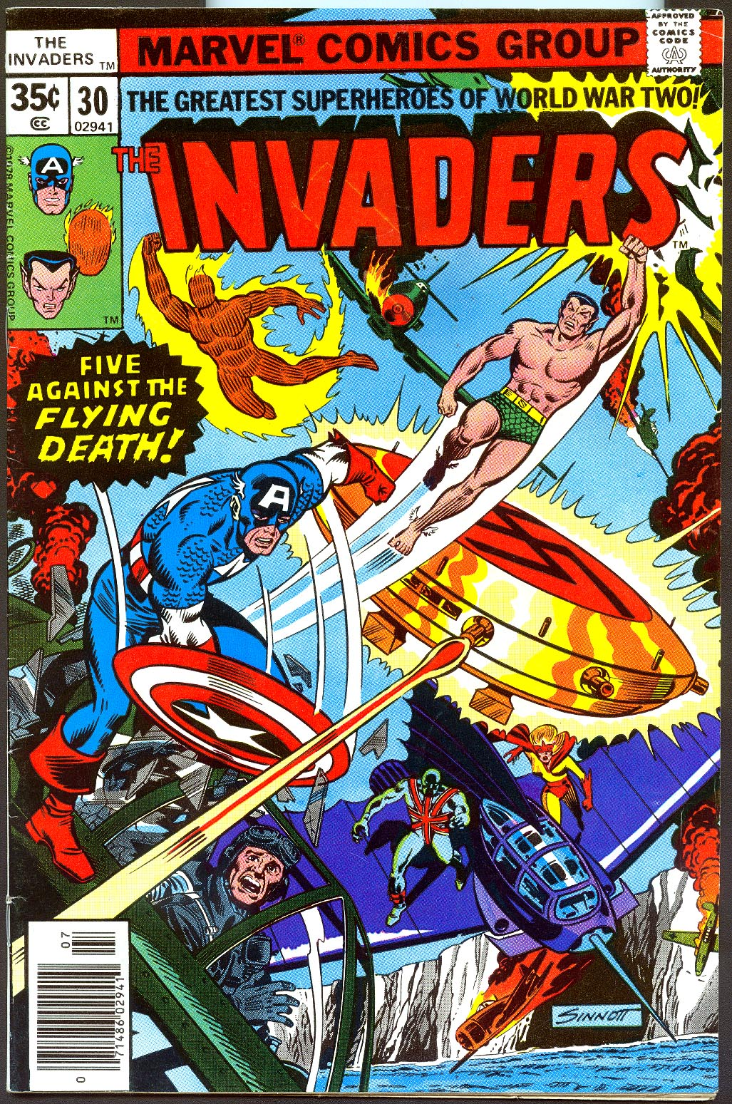 Invaders 30 -VF