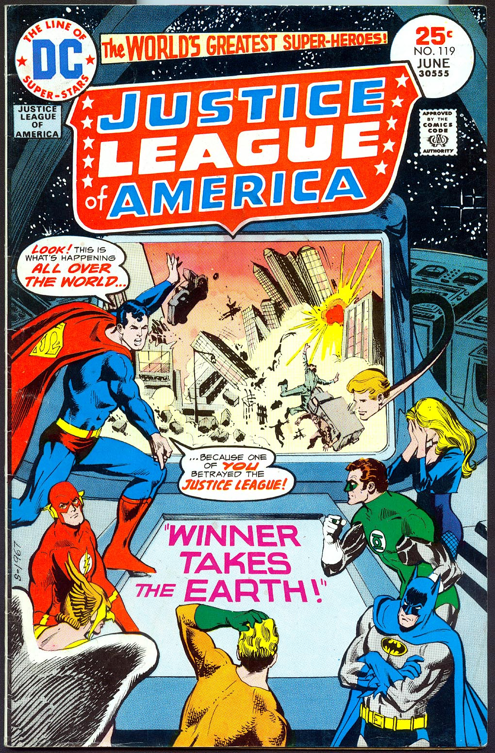 Justice League Of America 119 -VG