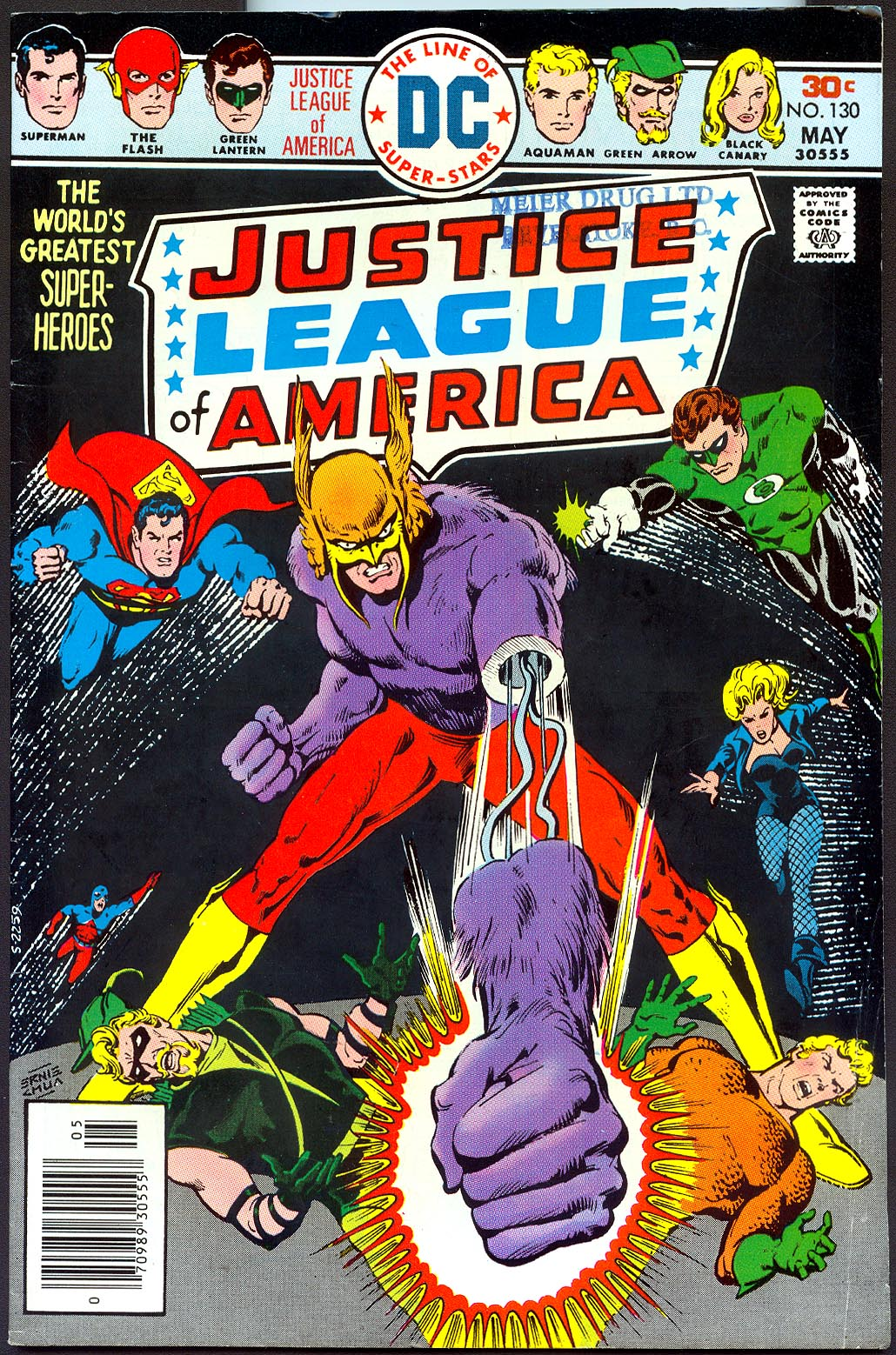 Justice League Of America 130 -VG