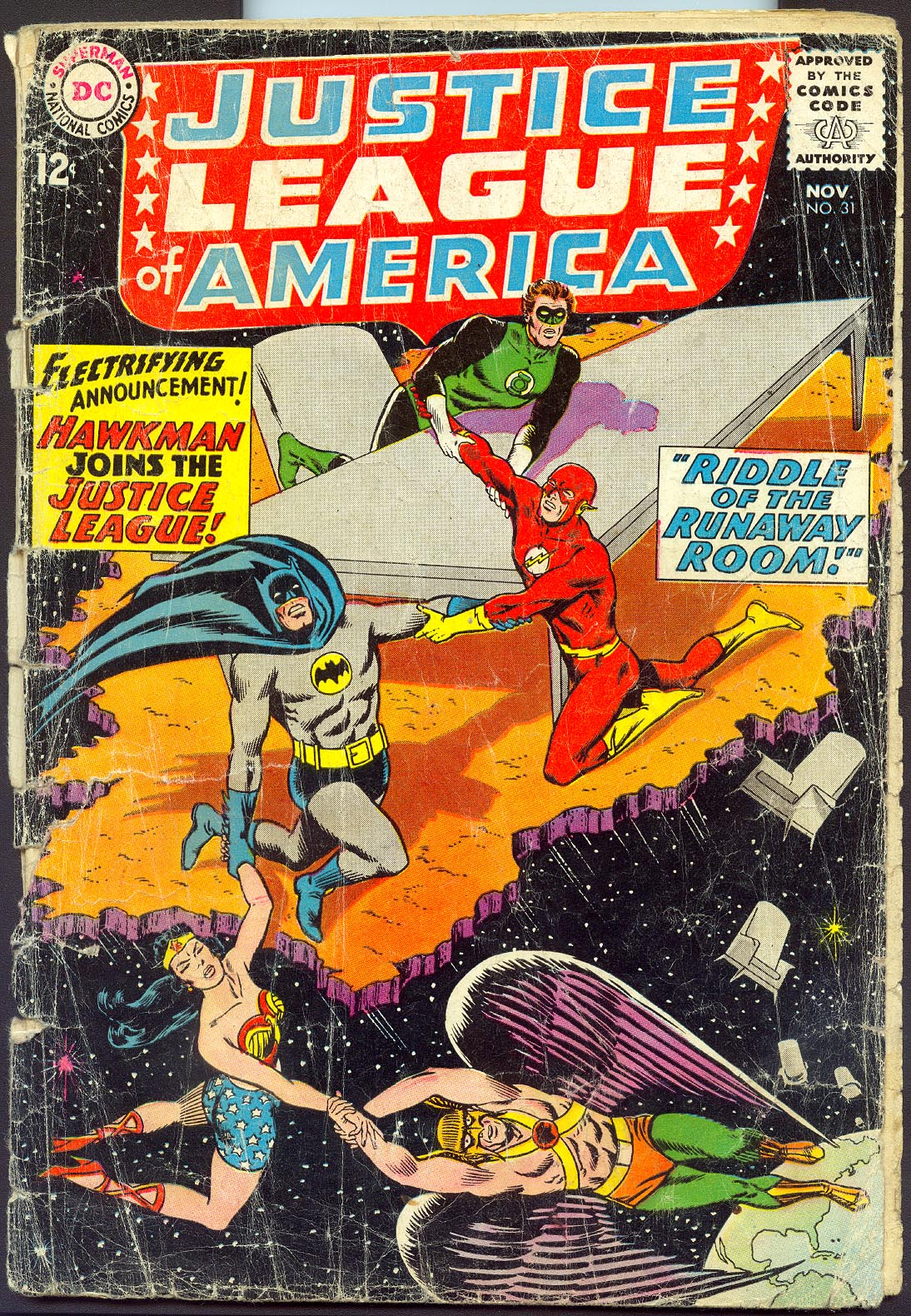 Justice League Of America 31 -FR
