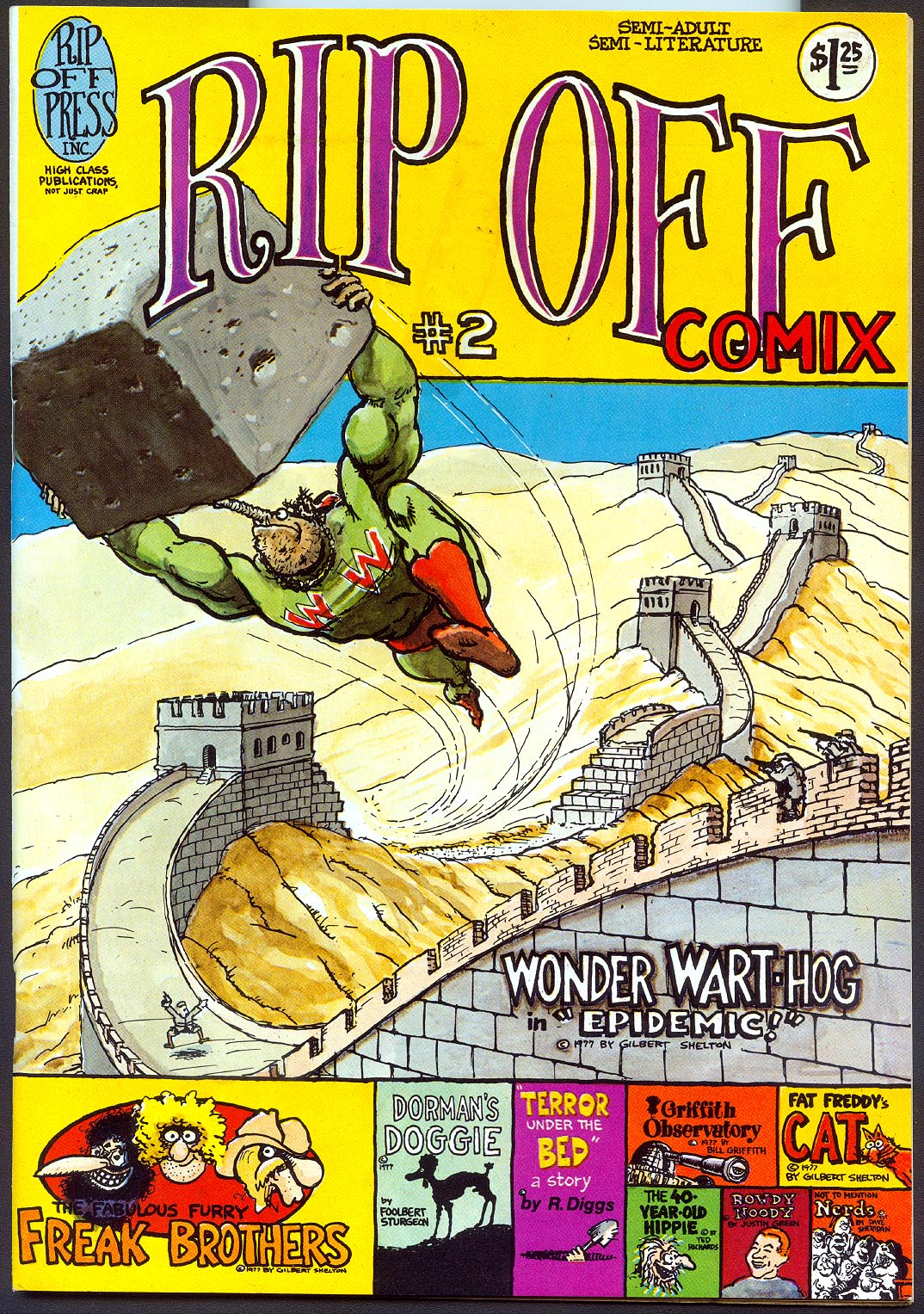 Rip Off Comix 2 ( 2 nd Printing) -F