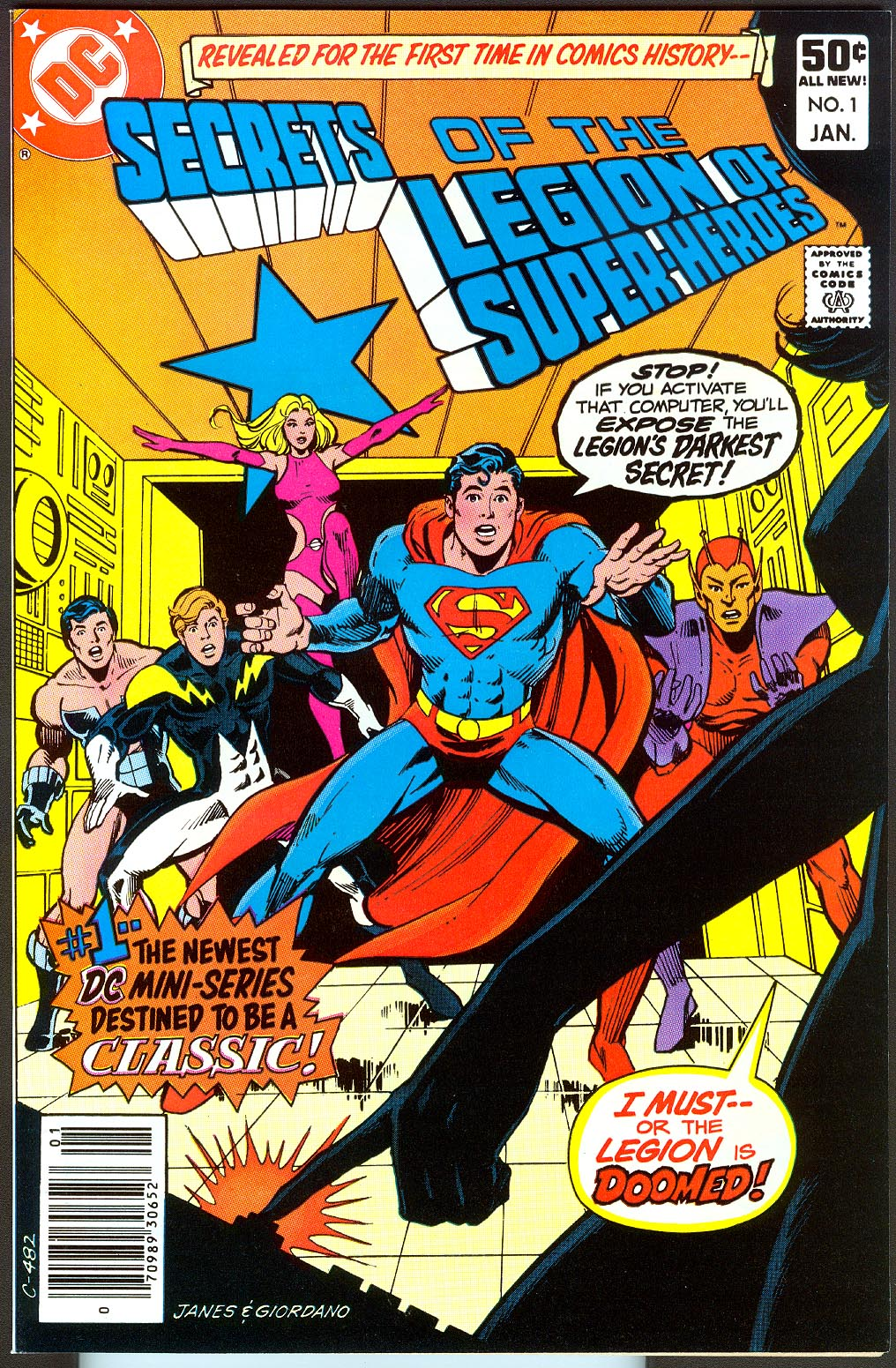 Secrets Of The Legion Of Super-Heroes 1 (of 3 )