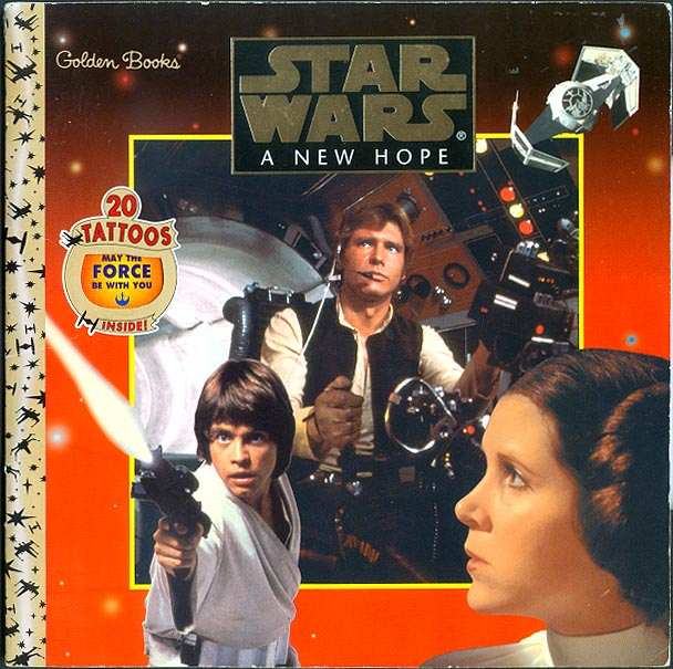 Star Wars A New Hope (Golden Books)