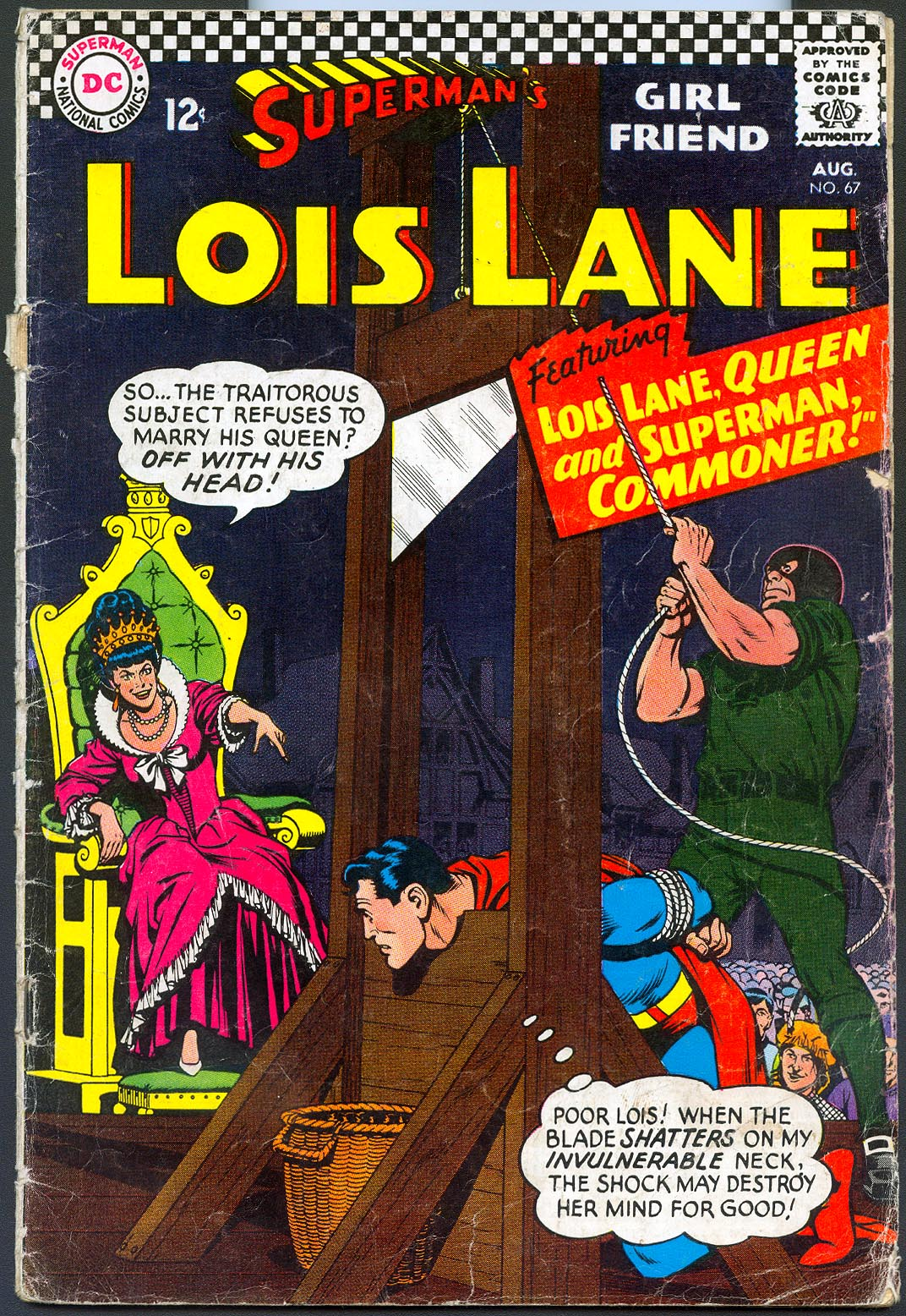 Supermans Girlfriend Lois Lane 67 -GVG