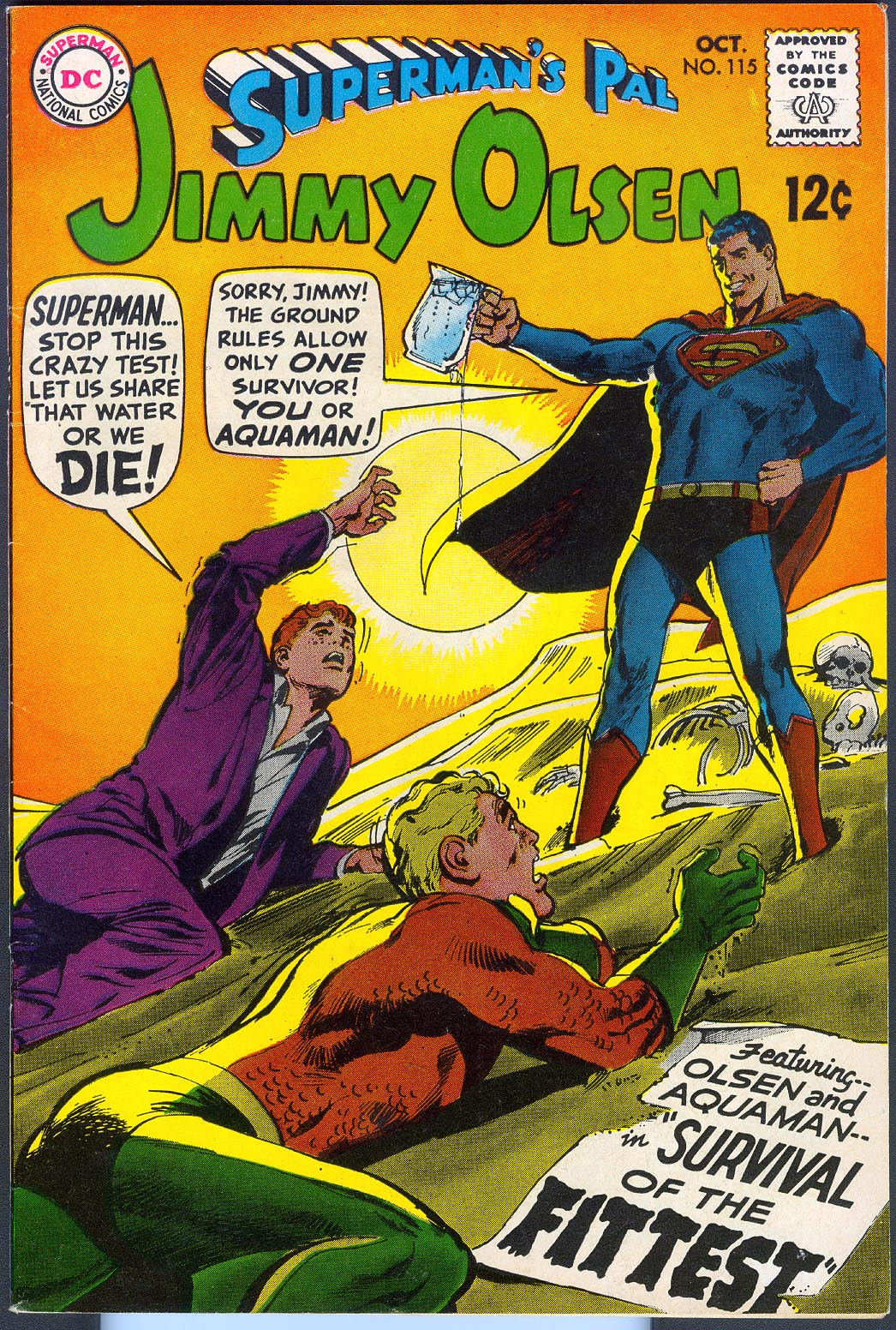 Supermans Pal Jimmy Olsen 115 -VF