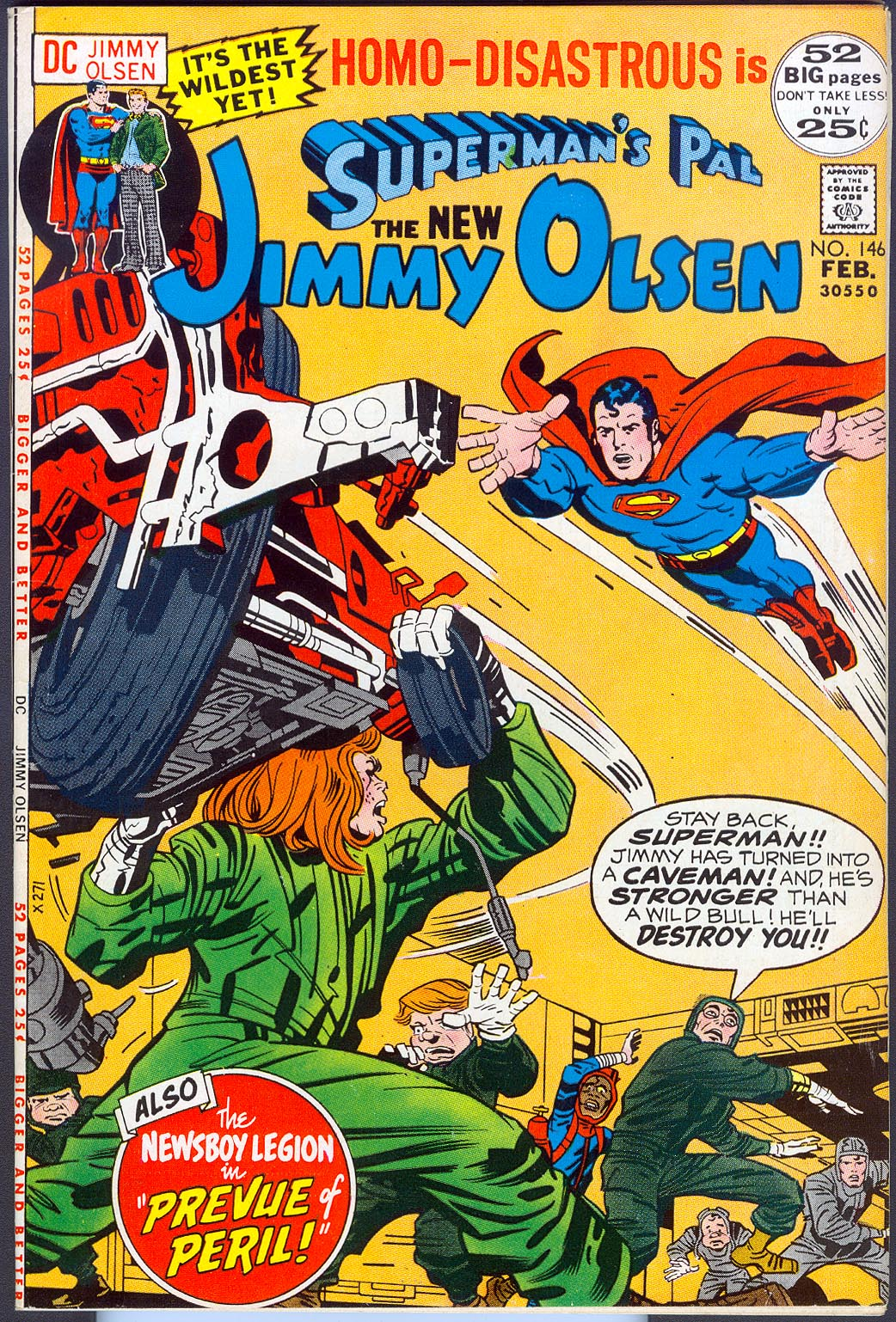 Supermans Pal Jimmy Olsen 146 -VFNM