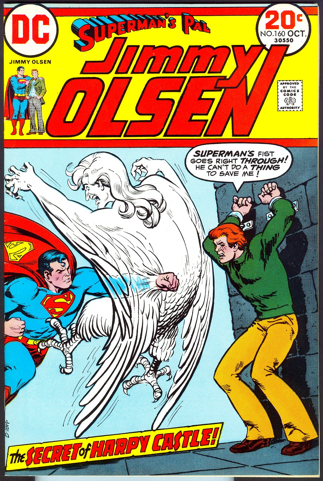 Supermans Pal Jimmy Olsen 160 -VFNM