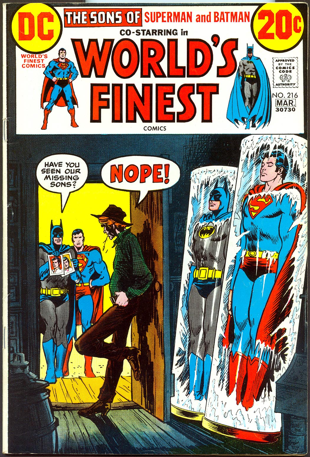 Worlds Finest 216 -VF