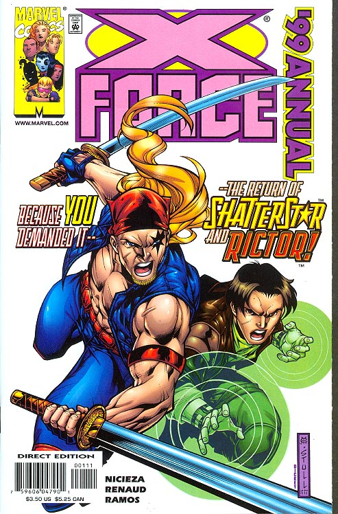 X-Force Annual 1999