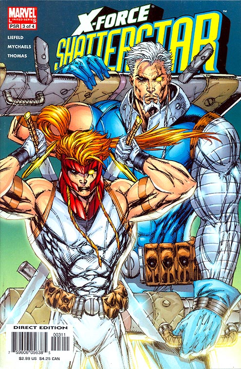 X-Force Shatterstar 3 (of 4 )