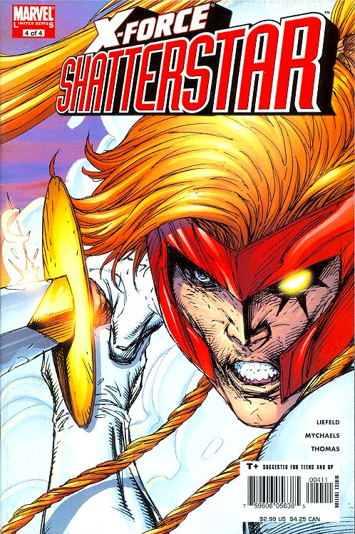 X-Force Shatterstar 4 (of 4 )